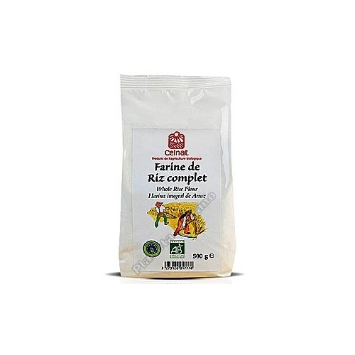 Harina de arroz Bio, 500g. Celnat
