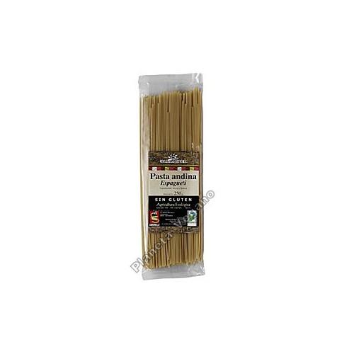 Espaguetis de Arroz y Quinoa, 250g. Oleander