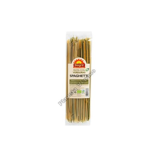 Espagueti con Verduras, 250g. Biográ