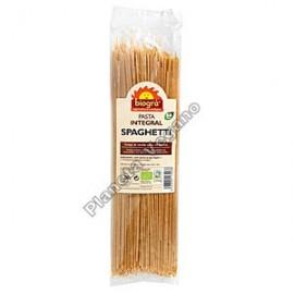 Espagueti de Trigo Integral, 250g. Biográ