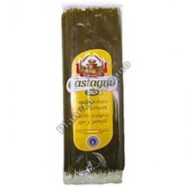 Espagueti de Trigo con Ajo y Perejil. 500g. Castagno