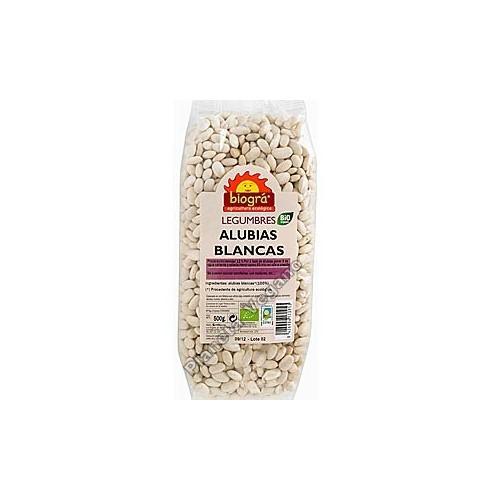 Alubias Blancas, 500 g. Biográ