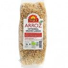 Arroz Integral Grano Largo, 500g. Biográ