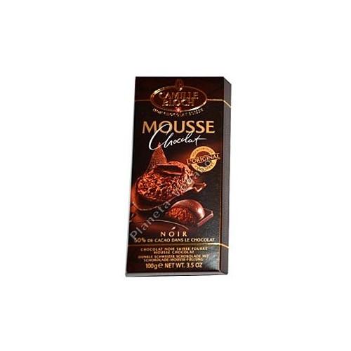 Chocolate Negro Relleno de Mousse, 100 g. Camile Bloch