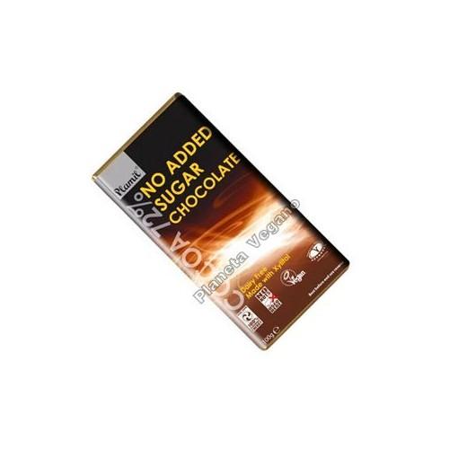 Chocolate Negro sin Azúcar, 100g. Plamil