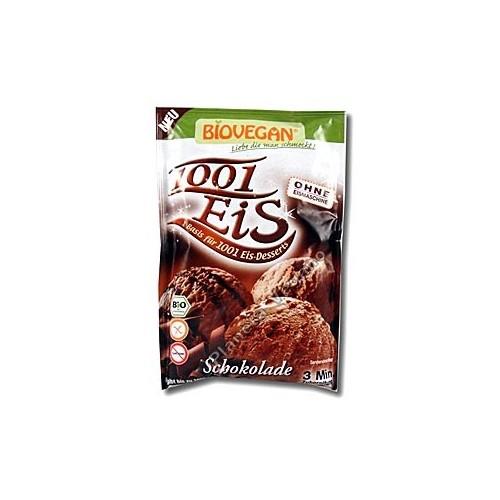 Mezcla para hacer Helado de Chocolate, 89g. Biovegan
