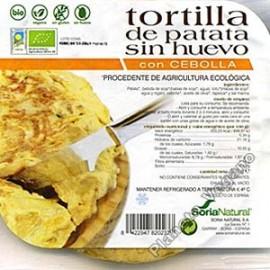 Tortilla de Patata Vegana con Cebolla, 250g Soria Natural