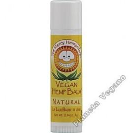 Bálsamo Labial Vegano de Cañamo sabor Natural, 4g