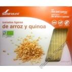 Tostadas Ligeras de Arroz Integral y Quinoa. Soria Natural