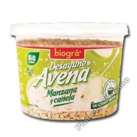 Desayuno de Avena con Manzana y Canela 220g. Biográ