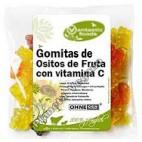 Gomitas Vegetales de Ositos de Frutas, 150g. V. F.
