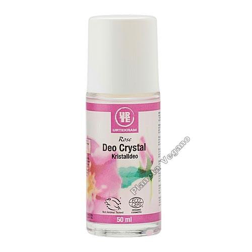 Desodorante Rosas Roll-on, 50 ml. Urtekram