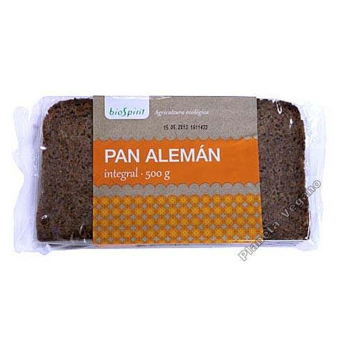 Pan Alemán Integral, 500 g. Biospirit