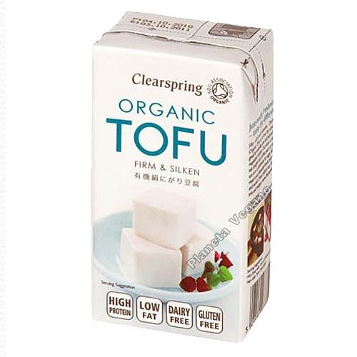 Tofu Firme y Sedoso, 300 g. Clearspring