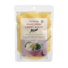 Miso Blanco Dulce, 250 g. Clearspring