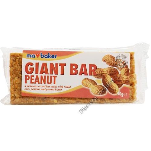 Giant Bar Cacahuete, 90g Ma Baker