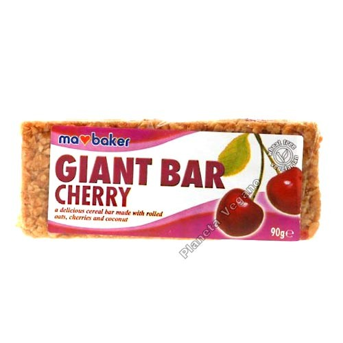 Giant Bar Cereza, 90g Ma Baker