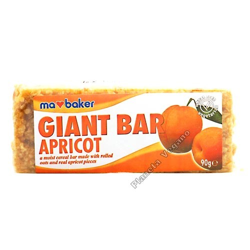 Giant Bar Albaricoque, 90g Ma Baker