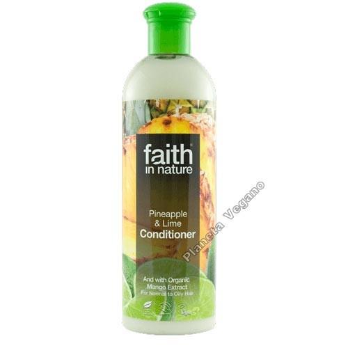 Acondicionador de Piña y Limón, 400 ml. Faith in Nature