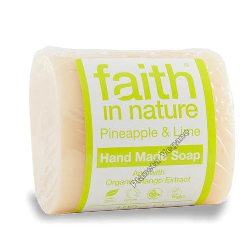 Jabón con Piña y Limón, 100gr Faith in Nature