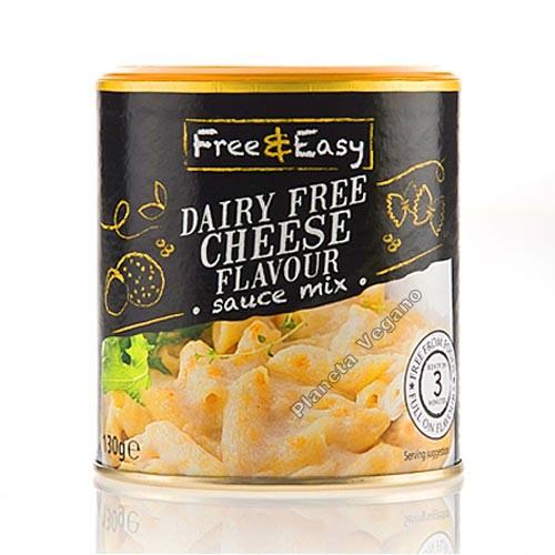 Salsa de Queso Vegano, 130g Free & Easy