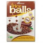 Rice Balls - Bolitas de Arroz Integral con Miel de Caña, Cacao y Estevia, 250g Soria Natural