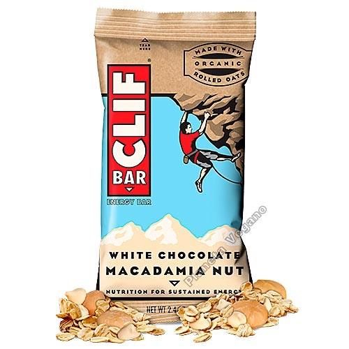 White Chocolate Macadamia Nut, 68 g Clif Bar