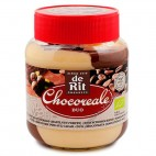 Crema de Chocolate Blanco y avellanas Duo Chocoreale, 350g. de Rit