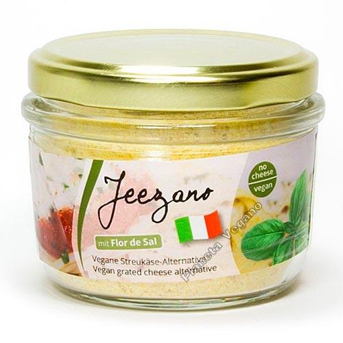 Queso vegano en polvo estilo Parmesano (Jeezano), 75g. Vegourmet