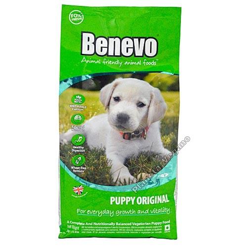 Pienso vegano para cachorros, 2 kg Benevo