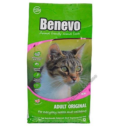 Pienso Vegano Benevo Cat, 10 kg.