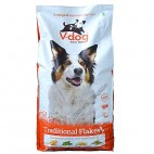 Pienso Vegano V-Dog Traditional Flakes 15kg