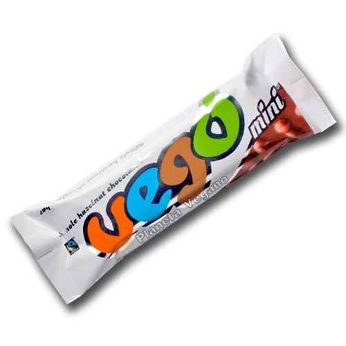 VEGO - Barra de chocolate con Avellanas, 65g.