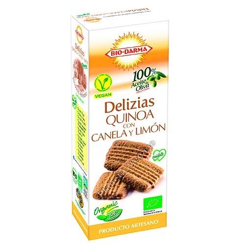 Delizias de Quinoa con Canela y Limón, 125g Bio-Darma