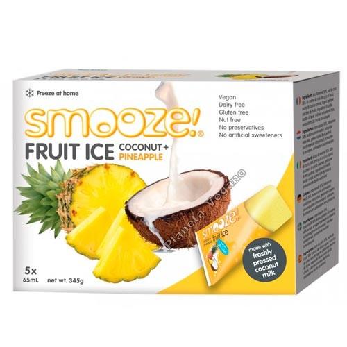 Smooze Fruit Ice, Polo de Piña y Coco 5x65ml.