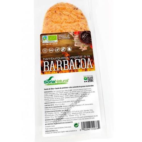 Hamburguesa Vegetal a la Barbacoa, 160g Soria Natural