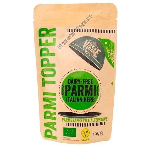 Queso Vegano Parmesano con Hierbas Italianas, 100g Terra Vegane