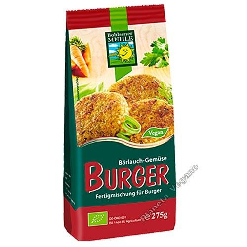 Mezcla para Burgers con Ajo, 275g  Bohlsener Mühle