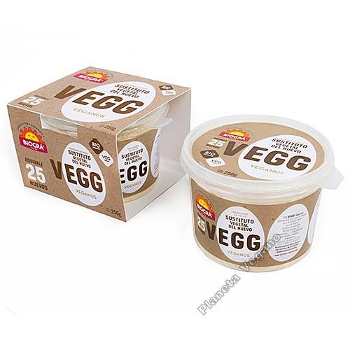 VEGG - Sustituto Vegetal del Huevo, 250g Biográ