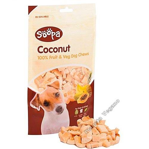 Snack Masticable de Coco, 100g Soopa