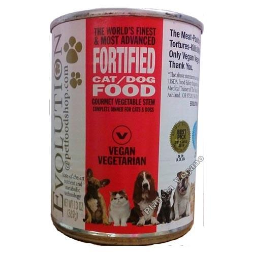 Pienso Vegano Húmedo para Perros/Gatos, 369g Evolution Diet