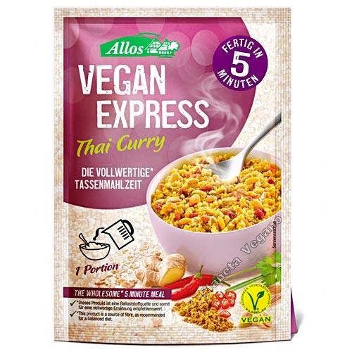 Vegan Express Thai Curry,  65g Allos