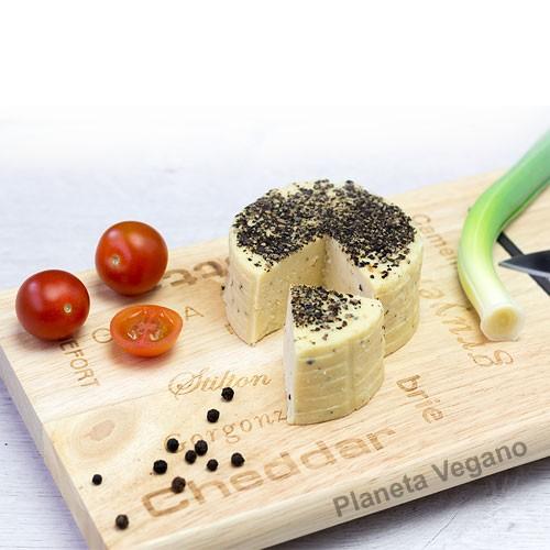 Queso Vegano a la Pimienta, 150 g Veggísimo