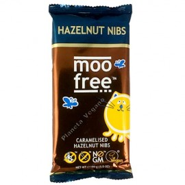 Chocolate con Avellana Caramelizada, 100g Moo Free
