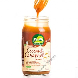 Salsa de Caramelo de Coco, 400 g. Nature´s Charm