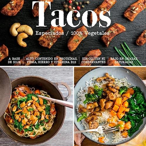 Tacos Especiados, 180g Heura