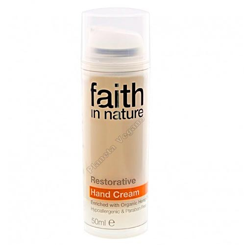 Crema Restauradora para Manos, 50 ml Faith in Nature