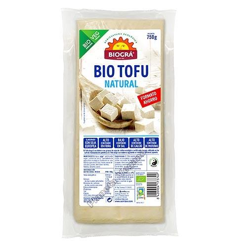 Bio Tofu Natural, 750g Biográ