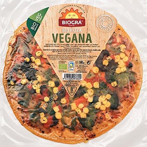 Bio Pizza Vegana, 300g Biográ