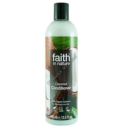 Acondicionador de Coco, 400 ml. Faith in Nature